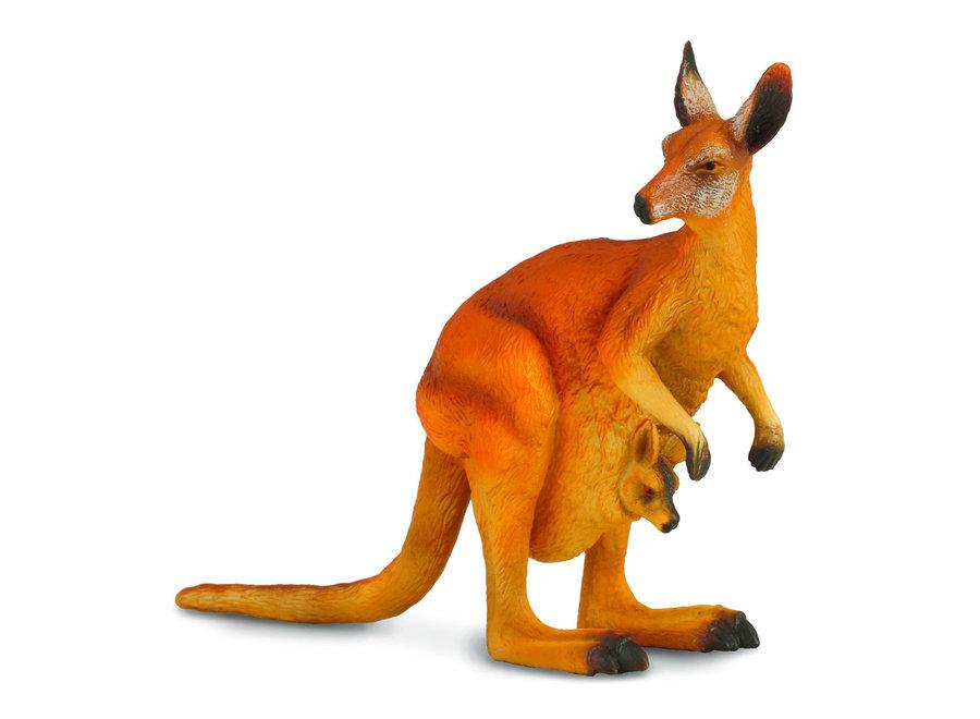Collecta Red Kangaroo and Joey