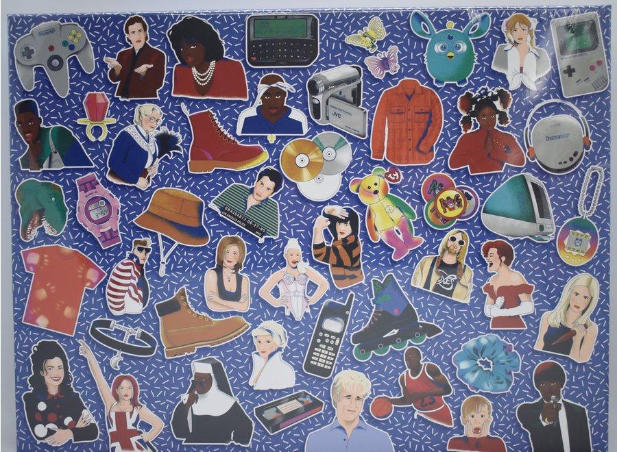 90's Icons 500 Piece Puzzle