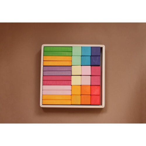 Skandico - Pastel Blocks & Bricks 18pce