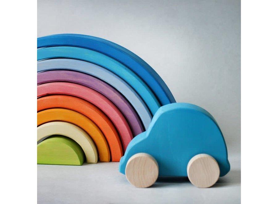 Blue Rainbow Stacker