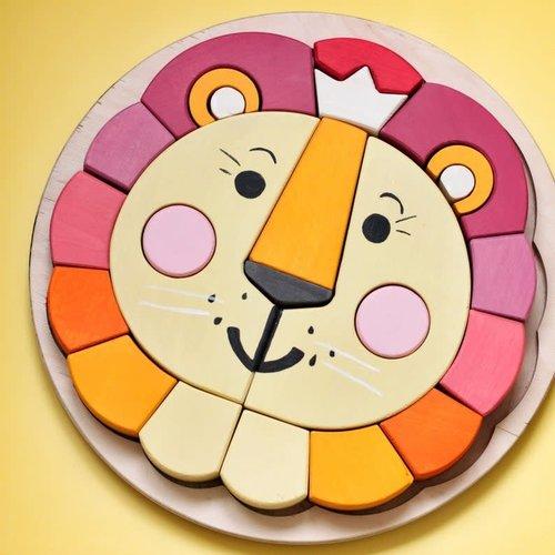 Skandico - Coloured Lion Puzzle
