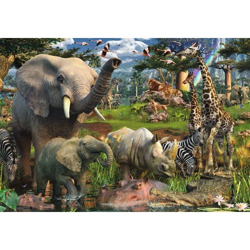 Ravensburger  At the Waterhole Puzzle 18000 pieces