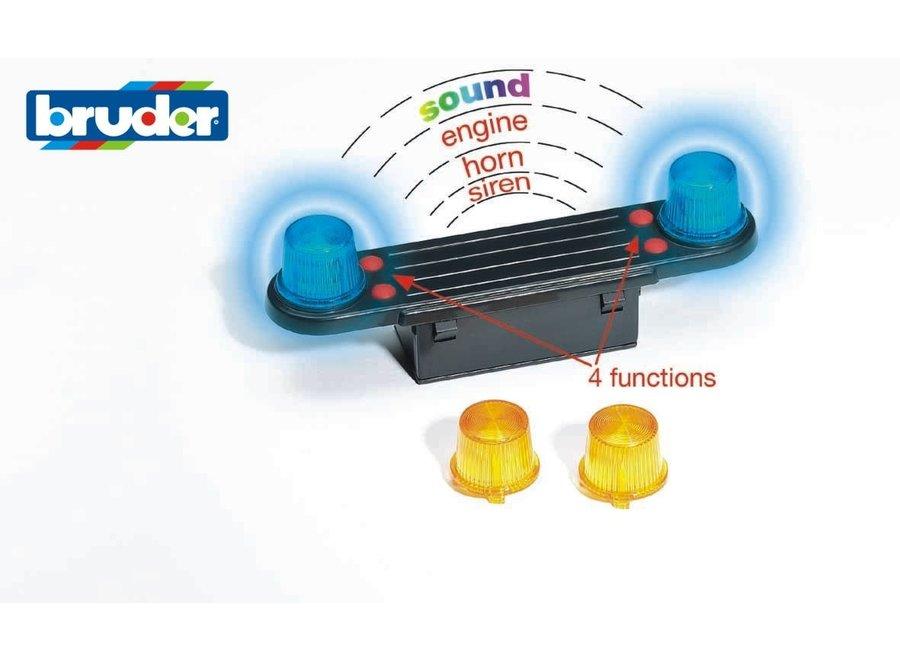 Bruder Light & Sound Module accessory