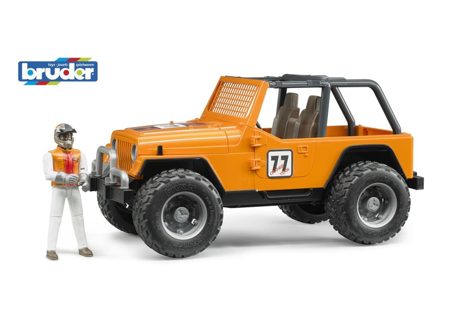 Bruder Jeep Cross Country Racer Orange
