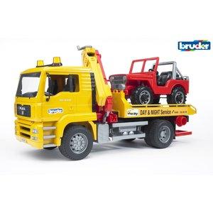 BR1:16 MAN TGA Breakdown Truck with CC Vehicle