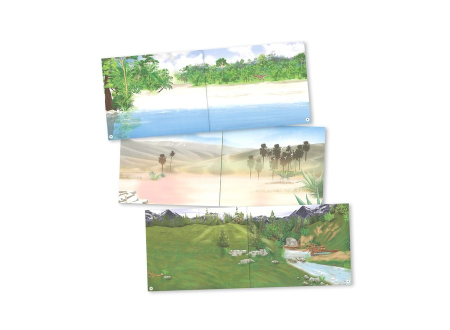 Dino World Sticker Book
