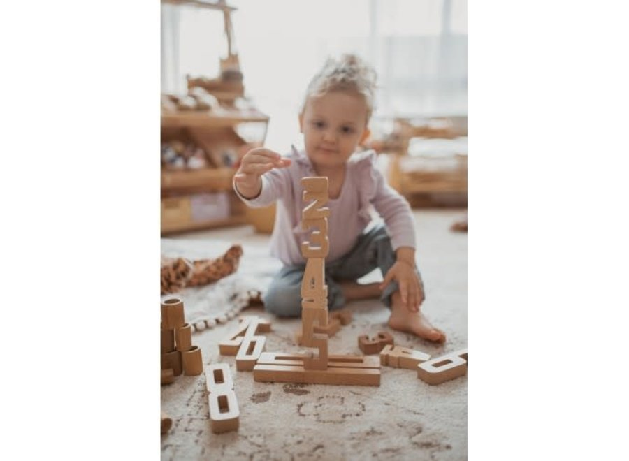 Astrup Wooden Educational Numbers