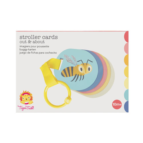 Tiger Tribe Stroller Cards - Out & About