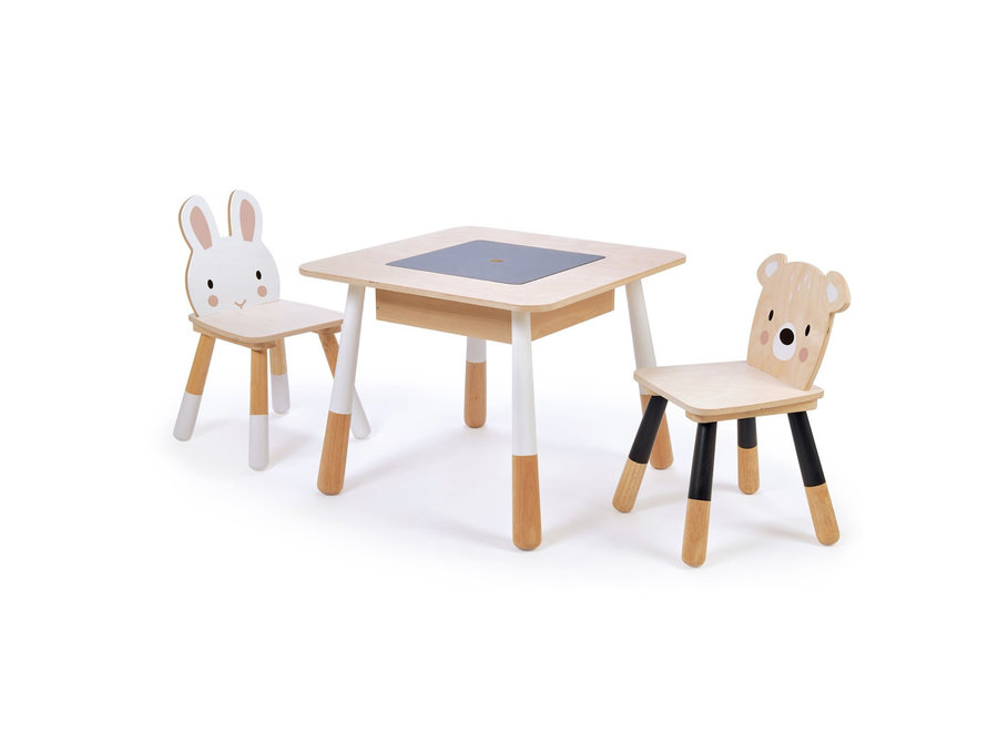 Forest Wooden Table and 2 Chairs