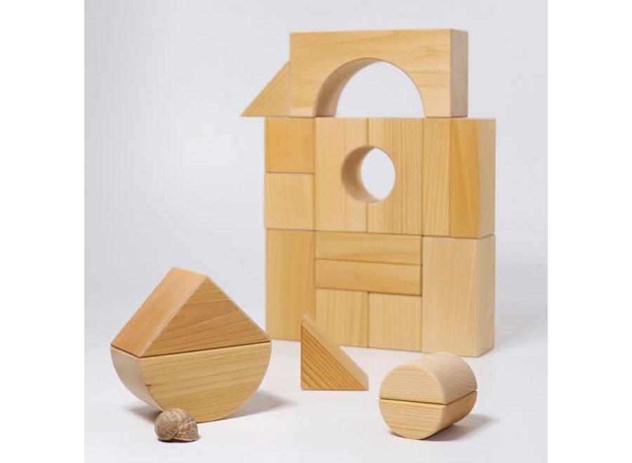 Grimms Blocks Giant Building Natural