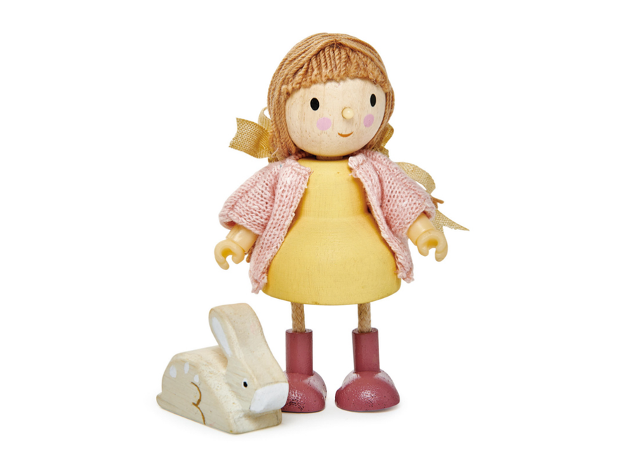 Amy with Flexible Limbs & Her Rabbit