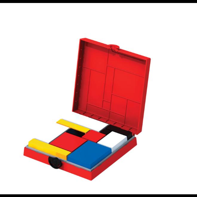 Mondrian Blocks - Red