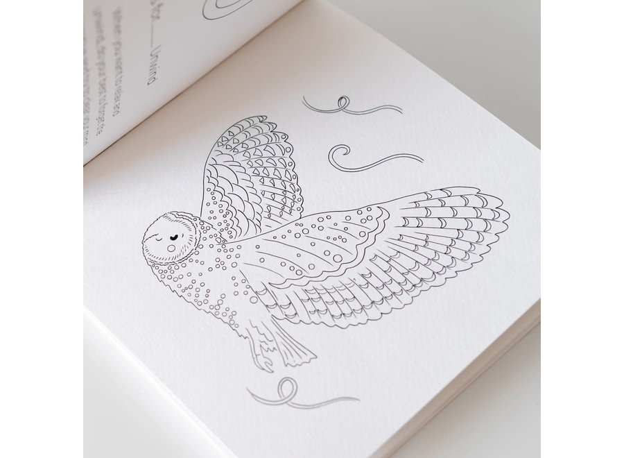 ABCS to Mindfulness Colouring Book