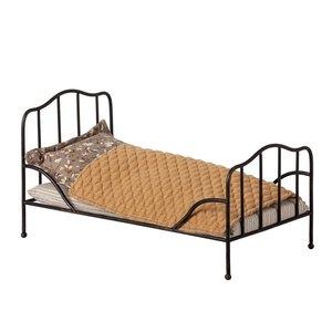 Maileg Maileg Vintage bed Mini Anthracite