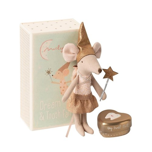 Maileg Tooth Fairy Sister Mouse in Box