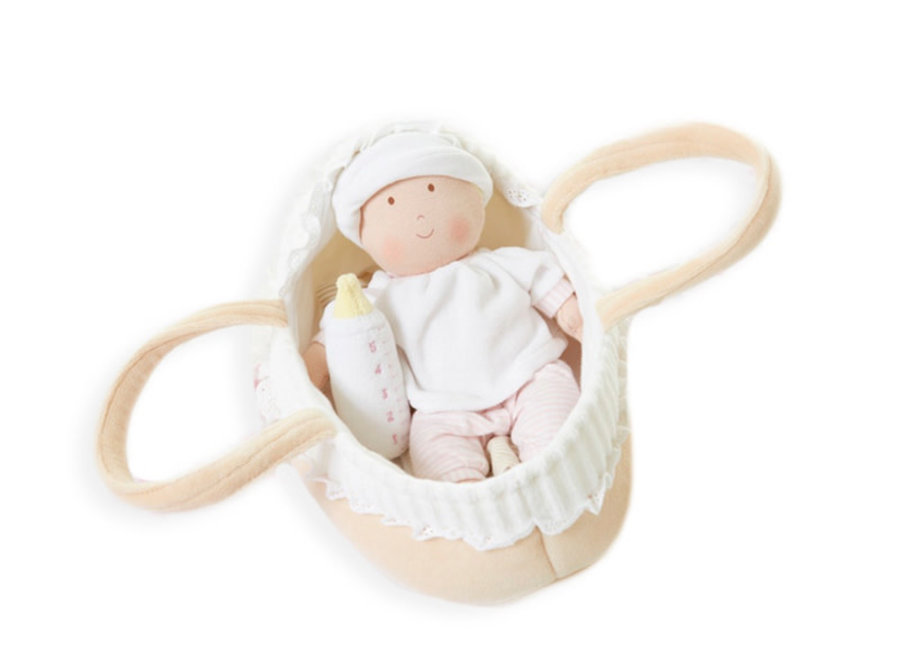 Grace Carry Cot With Baby Doll