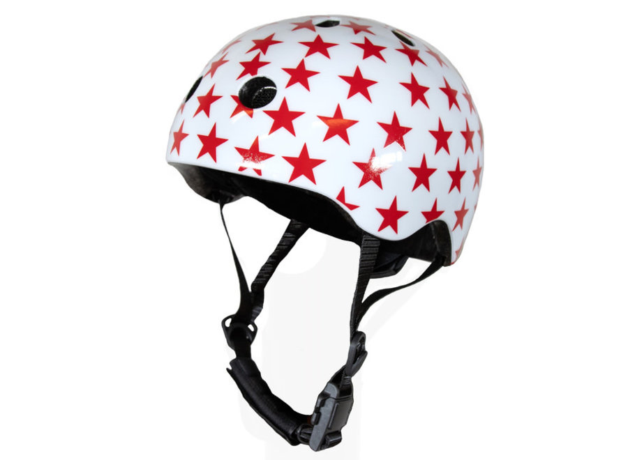 Extra Small White Helmet With Stars