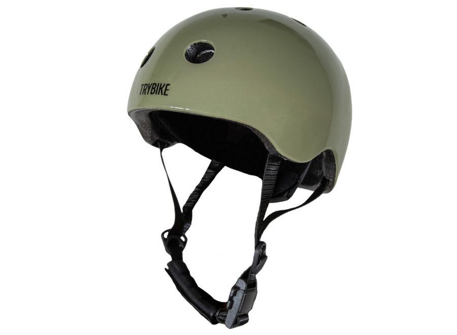 Extra Small Vintage Green Helmet