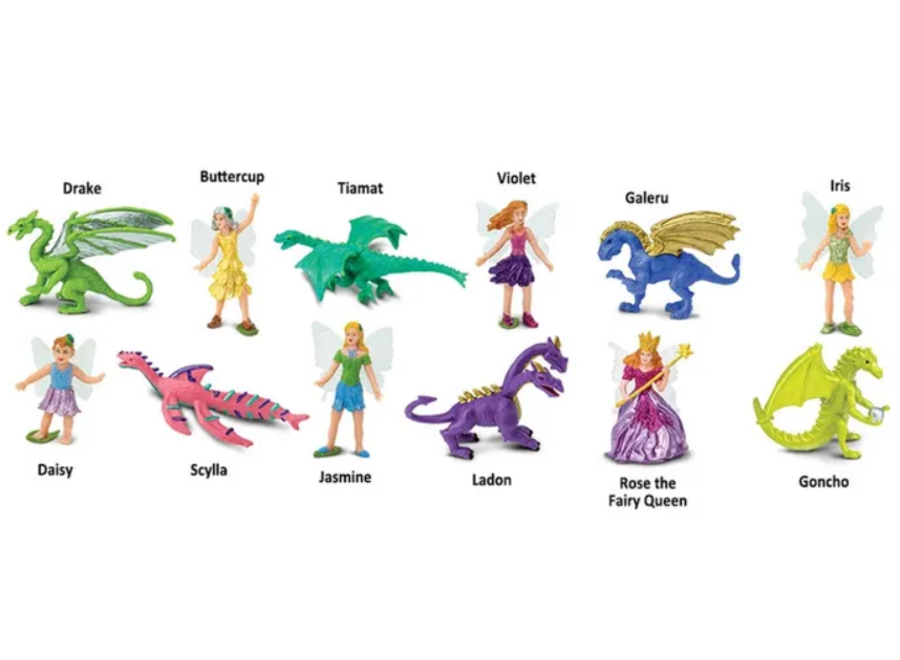 Fairies And Dragons Super Toob