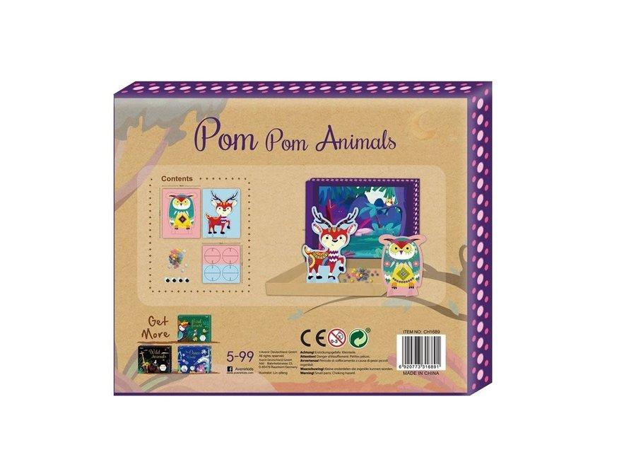 Avenir - Pom Pom Art - Animals Box Set