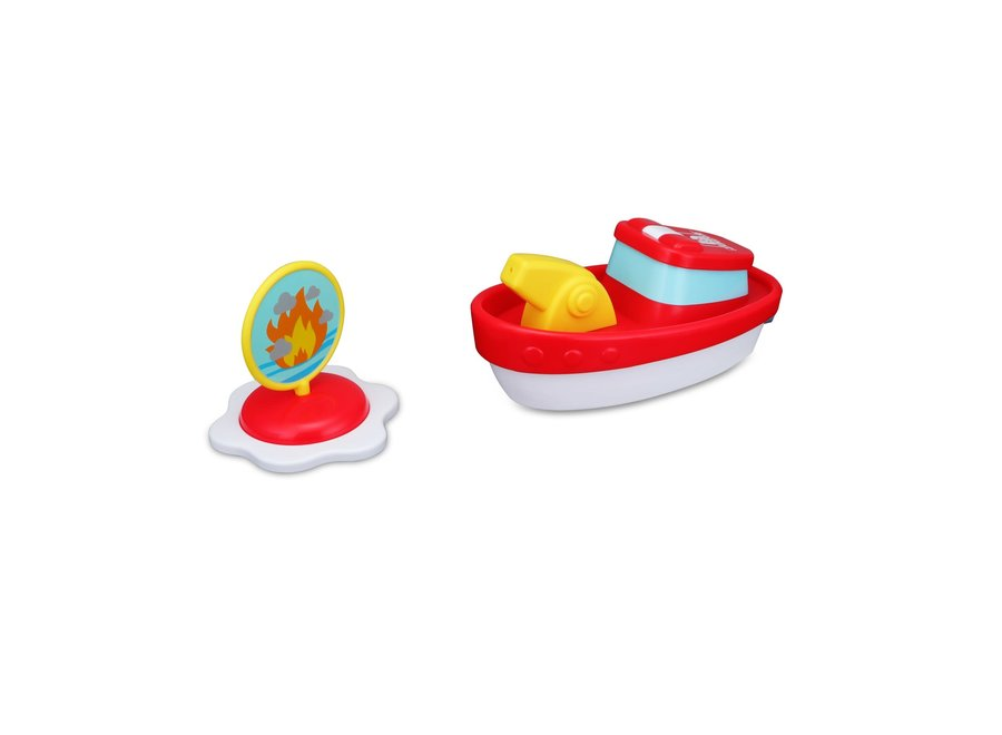 BBJ Splash N Play Fire Boat with Water Spray
