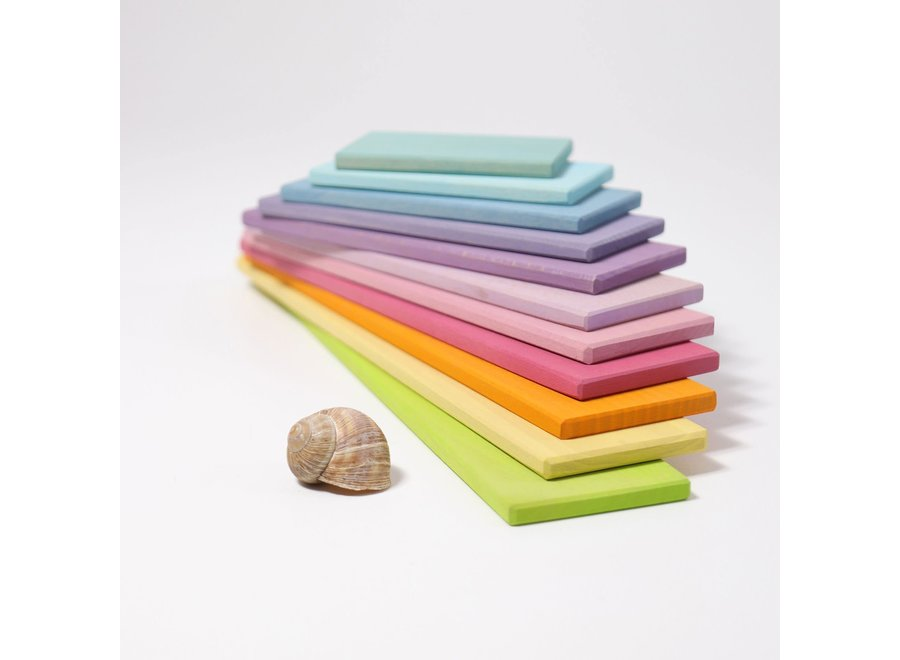 Grimm's Building Boards Pastel