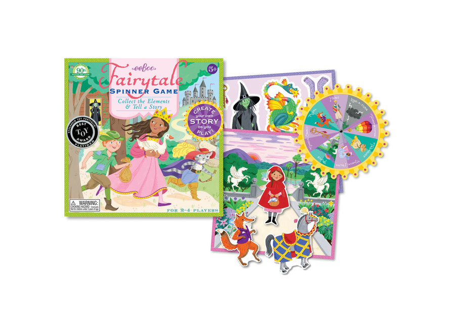 eeBoo Spinner Game Fairytale