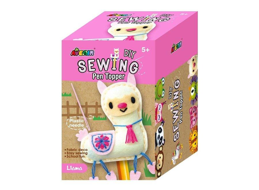 Avenir Sewing Pen Topper Llama