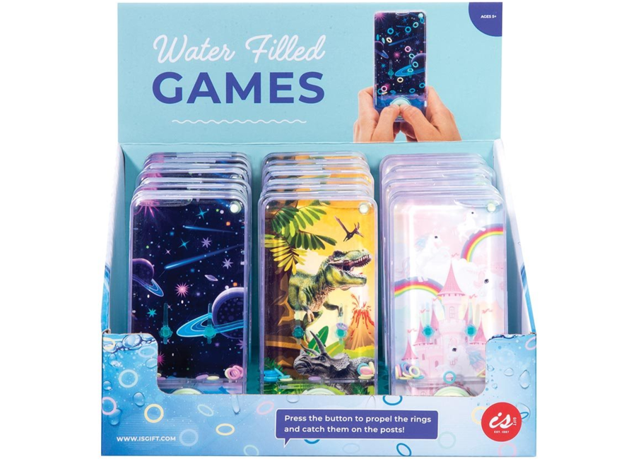 IS GIFT Water Filled Games Dinosaurs