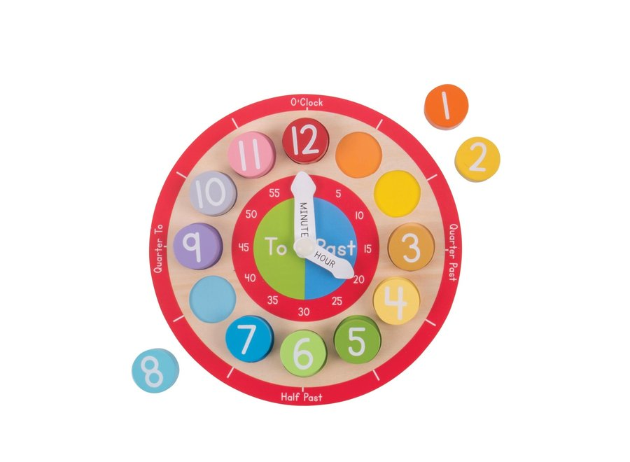 Bigjigs Teaching Clock