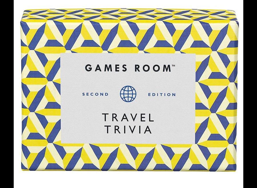 Games Room Travel Quiz