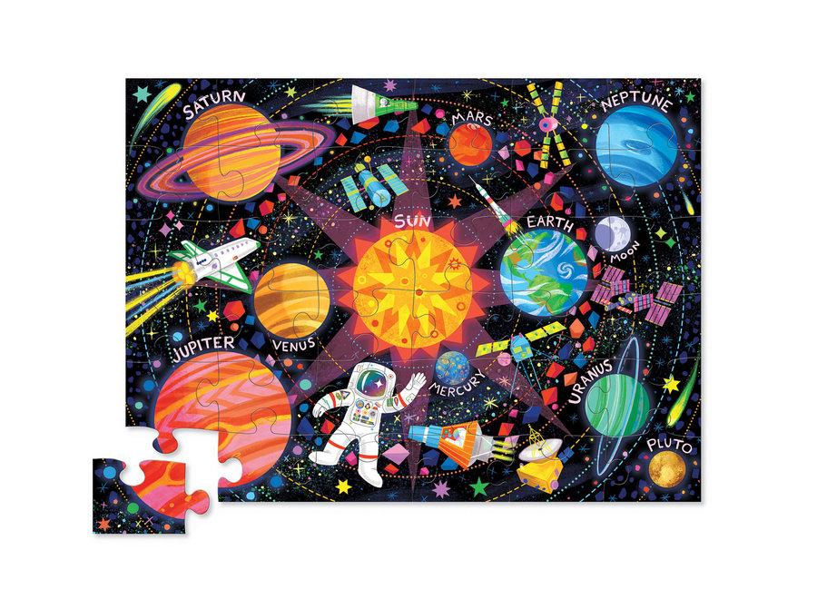 Classic Floor Puzzle 36 pc - Space Explorer
