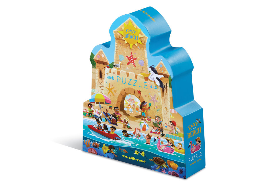 Day at the Museum Puzzle 48 pc- Beach