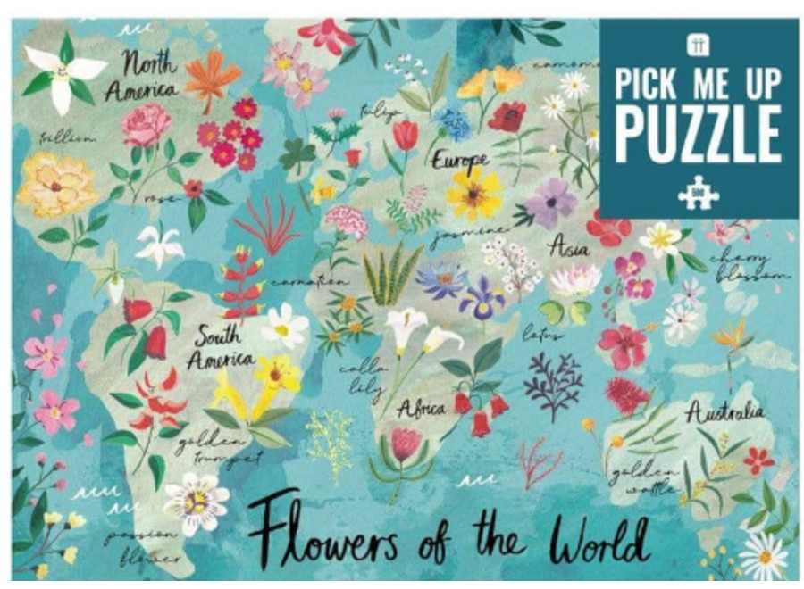 Flowers of the World Puzzle 500 Piece