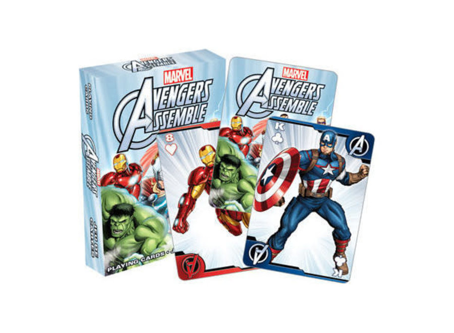 Avengers Assemble Playing Cards