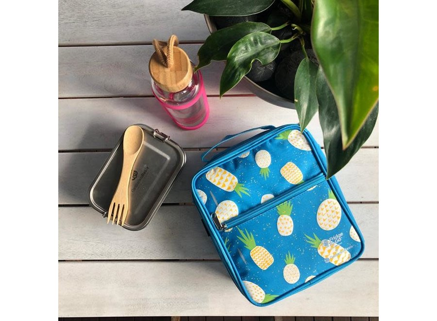 Fridge To Go Medium Lunch Bag - Pineapple