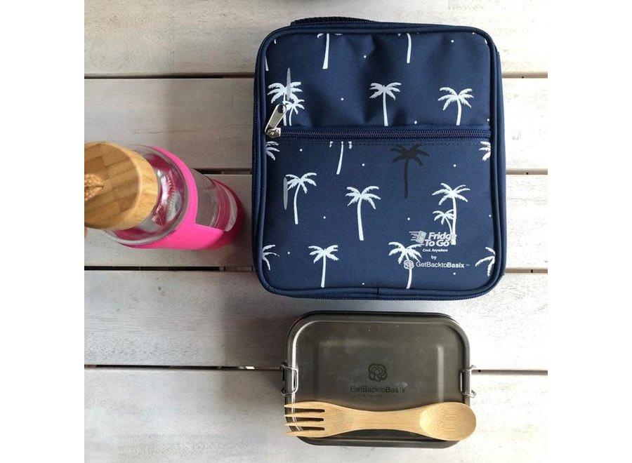 Fridge To Go Medium Lunch Bag - Palm
