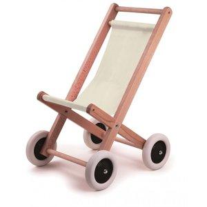 Wooden Doll Stroller