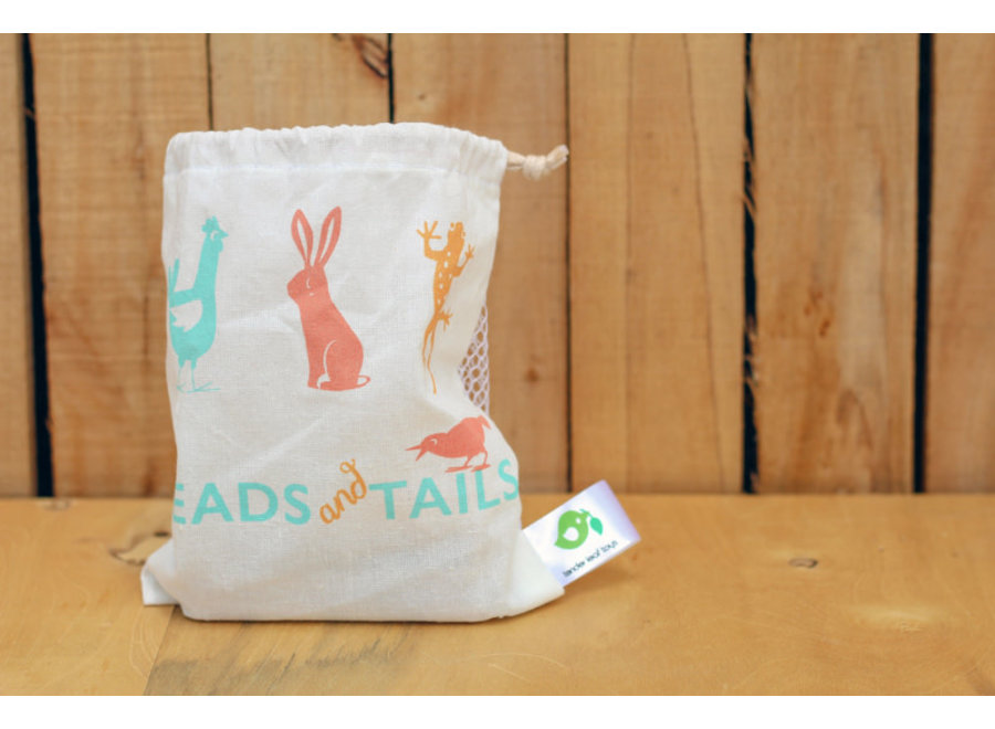 Heads and Tails Dominoes In Bag