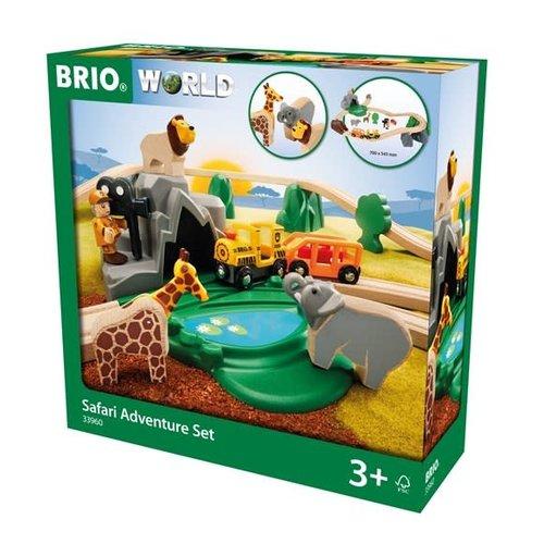 Brio BRIO Set - Safari Adventure Set, 26 pieces