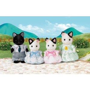 Sylvanian Families Sylvanian Families - Tuxedo Cat Family
