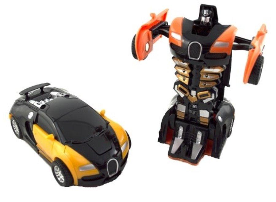 Bugatti Transform Robot Car