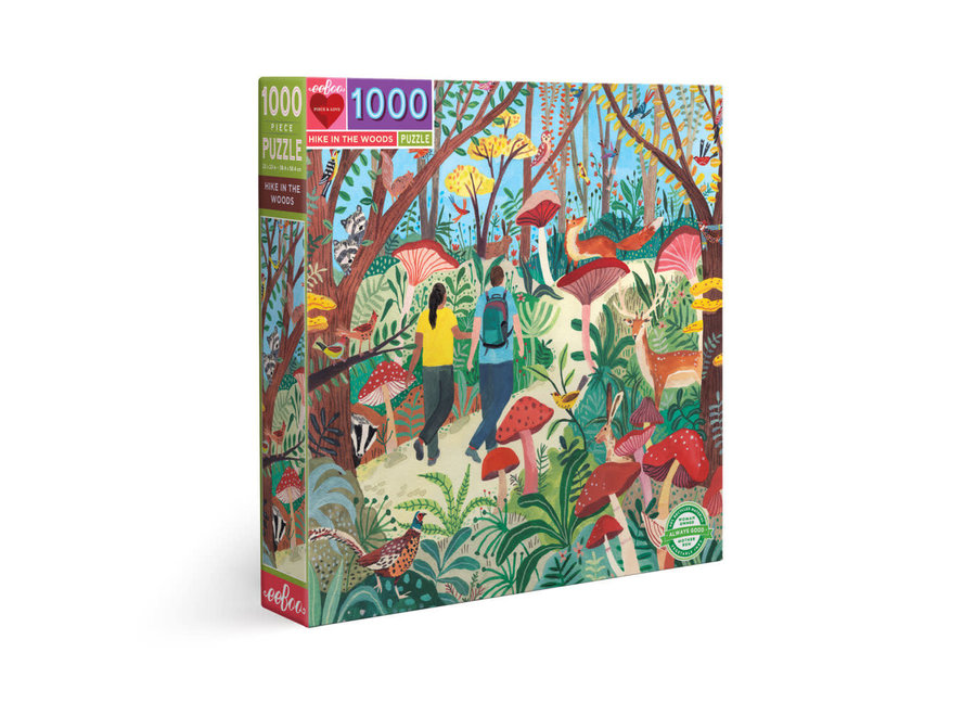 eeBoo 1000 Pc Puzzle – Hike in the Woods