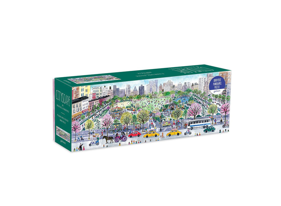Galison 1000 Pc Michael Storrings Panoramic Puzzle – Cityscape