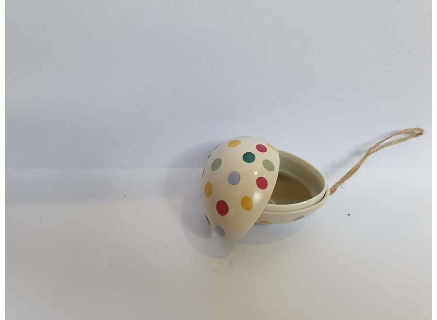 Emma Bridgewater Mini  Egg Tins White Dots