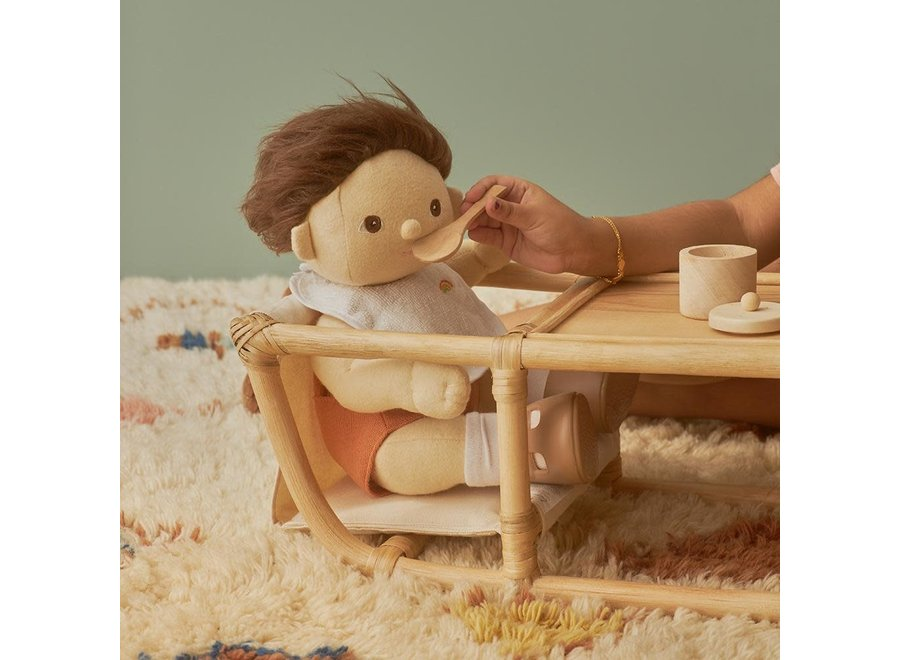 Dinkum Doll Rattan High Chair