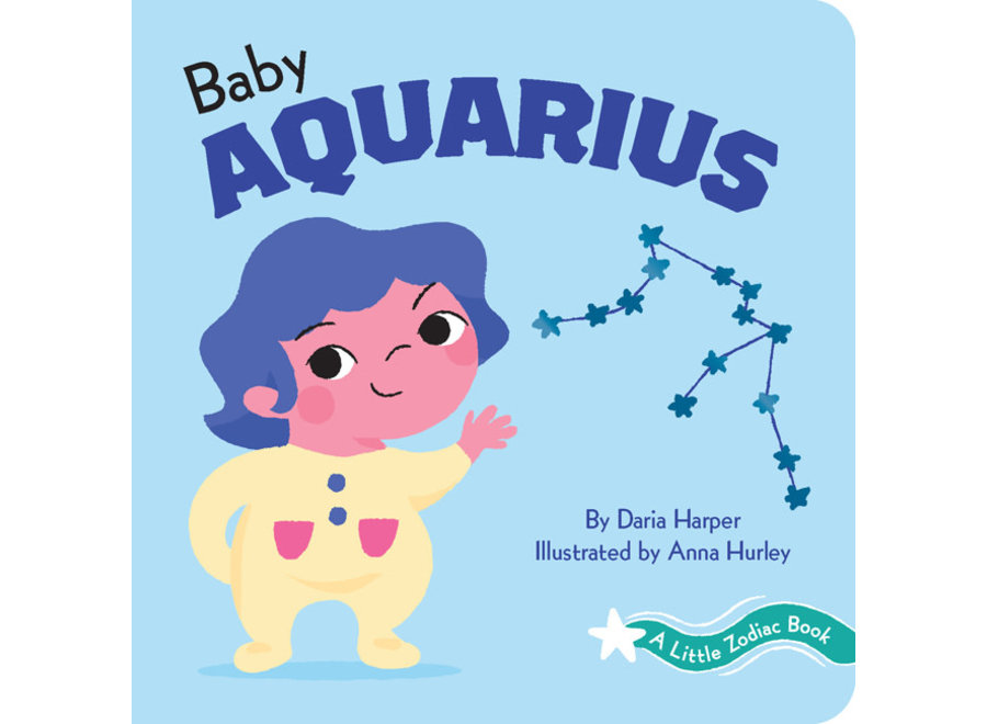 A Little Zodiac Book : Baby Aquarius