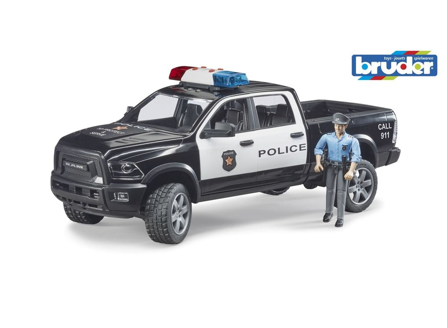 Bruder RAM 2500 Police Truck With Policeman