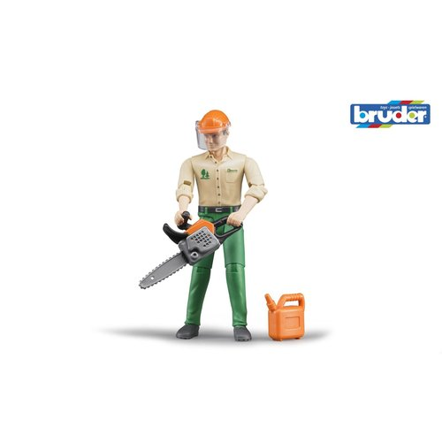B World Forestry Worker with Accesories