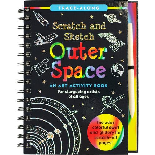 Peter Pauper Press Scratch & Sketch Outer Space
